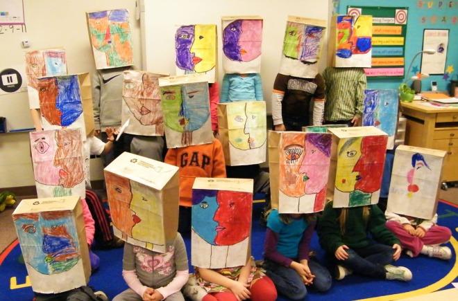 Picasso Paper Bag 004