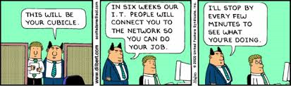 Dilbert New Job